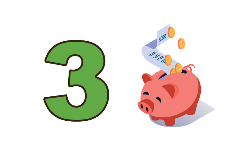 Pillar 3 Save Money
